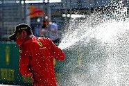 Podium - Formel 1 2020, Österreich GP, Spielberg, Bild: Ferrari