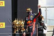 Podium - Formel 1 2020, Großbritannien GP, Silverstone, Bild: LAT Images