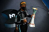 Podium - Formel 1 2020, Spanien GP, Barcelona, Bild: LAT Images
