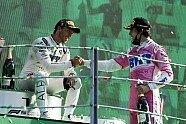 Podium - Formel 1 2020, Italien GP, Monza, Bild: LAT Images