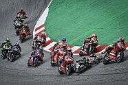 Der Dovizioso/Zarco-Crash in der Abfolge - MotoGP 2020, Katalonien GP , Barcelona, Bild: MotoGP.com