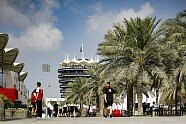 Atmosphäre & Podium - Formel 1 2020, Bahrain GP, Sakhir, Bild: LAT Images