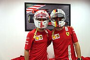 Atmosphäre & Podium - Formel 1 2020, Abu Dhabi GP, Abu Dhabi, Bild: Ferrari