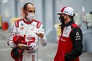 Formel 1 2021: Alfa-Romeo-Filmtag mit Kubica im C41 - Formel 1 2021, Präsentationen, Bild: Xavier Bonilla