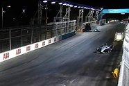 Unfall: Alex Lynn überschlägt sich in Riad - Formel E 2021, Diriyah ePrix II, Riad, Bild: LAT Images