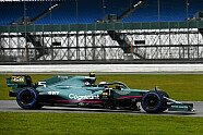 Aston Martin Filmtag: Vettel & Stroll in Silverstone - Formel 1 2021, Verschiedenes, Bild: Aston Martin F1