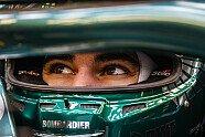 Aston Martin Filmtag: Vettel & Stroll in Silverstone - Formel 1 2021, Verschiedenes, Bild: Aston Martin