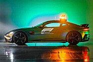 Formel 1 2021: So schauen die neuen Safety Cars aus - Formel 1 2021, Präsentationen, Bild: Aston Martin