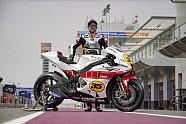 MotoGP: Cal Crutchlow mit Yamaha-Jubiläums-Lackierung in Katar - MotoGP 2021, Testfahrten, Losail II, Losail, Bild: Yamaha