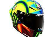Valentino Rossi: Sein neues Helm-Design - MotoGP 2021, Präsentationen, Bild: AGV Helmets