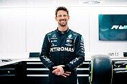 Formel-1-Sitzprobe: Romain Grosjean testet für Mercedes - Formel 1 2021, Verschiedenes, Bild: Mercedes-AMG F1