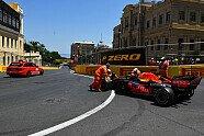 Crash-Party beim Baku-Qualifying - Formel 1 2021, Aserbaidschan GP, Baku, Bild: LAT Images