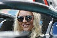 Formel E, New York: Lindsey Vonn trainiert im Jaguar I-Type 5 - Formel E 2021, New York ePrix I, New York, Bild: LAT Images