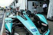 Formel E, New York: Lindsey Vonn trainiert im Jaguar I-Type 5 - Formel E 2021, New York ePrix I, New York, Bild: Jaguar