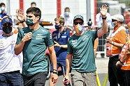 Atmosphäre & Podium - Formel 1 2021, Ungarn GP, Budapest, Bild: LAT Images