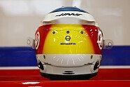 Formel 1 Spa: Mick Schumacher mit speziellem Schumi-Helmdesign - Formel 1 2021, Verschiedenes, Belgien GP, Spa-Francorchamps, Bild: Haas F1 Team