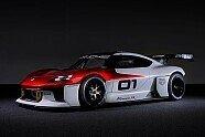 Porsche Mission R: 1.000-PS-Elektro-Rennwagen von allen Seiten - Sportwagen 2021, Präsentationen, Bild: Porsche