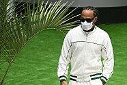 Sir Lewis Hamilton und seine Outfits - Formel 1 2021, Verschiedenes, Bild: LAT Images