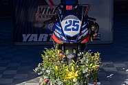 Superbike-Paddock gedenkt verstorbenem Vinales - Superbike WSBK 2021, Verschiedenes, Bild: Rainer Herhaus Photography
