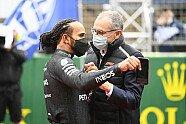 Atmosphäre & Podium - Formel 1 2021, Türkei GP, Istanbul, Bild: LAT Images