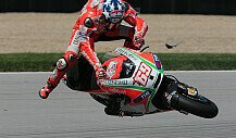 Nicky Hayden Indianapolis-Crash