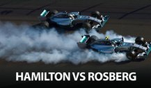 Best of 2014: Hamilton vs. Rosberg
