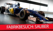 MSM TV - Backstage: Sauber Fabrik in Hinwil