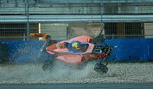 Horror-Crash in Hockenheim!