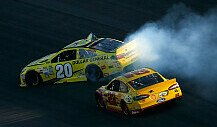 Kenseth vs. Logano - Pay back