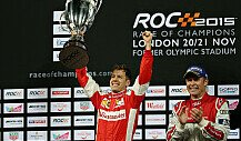 Podium-Party beim Race of Champions