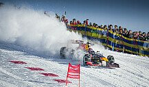 Red Bull Snow Run: Verstappen vs. Ski-Ass Svindal