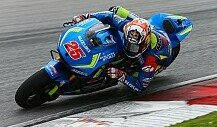 Suzuki-Tests in Sepang