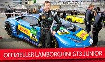 Lamborghini GT3 Junior Niederhauser: Sein Lambo, seine Karriere, seine Ziele