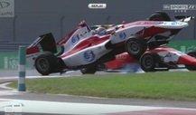 Dieser Crash entschied die GP3-Meisterschaft