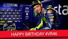 Happy Birthday! Valentino Rossi wird 38