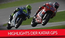 Die Highlights der Katar GPs