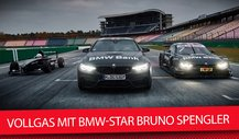 Vollgas mit BMW-Star Bruno Spengler