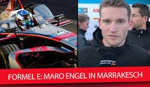 Formel E Marrakesch: Maro Engel im Exklusiv-Interview
