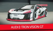 Audis Playstation-Monster: Der Audi E-Tron Vision GT ist real