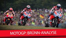 Der MotoGP-Krimi in Brünn in der Video-Analyse