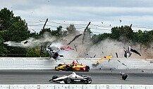 IndyCar: Video zum Horror-Unfall von Robert Wickens in Pocono