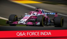 Kann Force India die Top-Teams ärgern? - Formel 1 2018