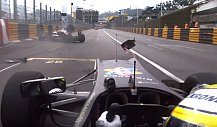 Macau-Unfall: Joel Eriksson crasht im Formel-3-Qualifying