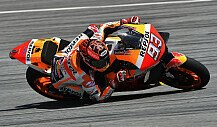 MotoGP - Marc Marquez in Action beim Sepang-Test