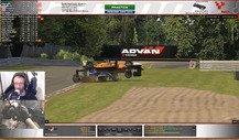 Formel-1-Pilot Max Verstappen rastet beim eSports aus