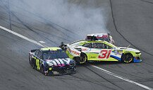 NASCAR Daytona 500 2019: Crash in der Boxengasse