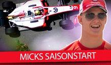 Wie schlägt sich Mick Schumacher in der Formel 2 2019?