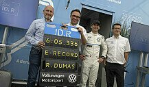 Rekord auf der Norschleife: VW fährt schnellste Elektro-Runde