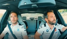 DTM - Timo Glock und Philipp Eng: Taxi-Fahrt mal anders