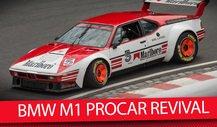 BMW M1 PROCAR Revival am Norisring